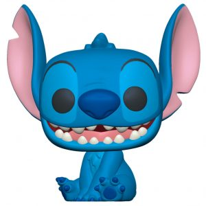 Funko Pop! Smiling Seated Stitch 10″ (25cm) (Lilo & Stitch)