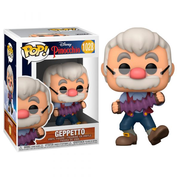 Figura POP Disney Pinocho Geppetto with Accordion