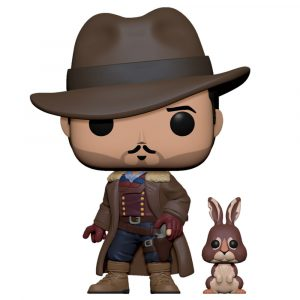 Funko Pop! Lee Scoresby with Hester (His Dark Materials)