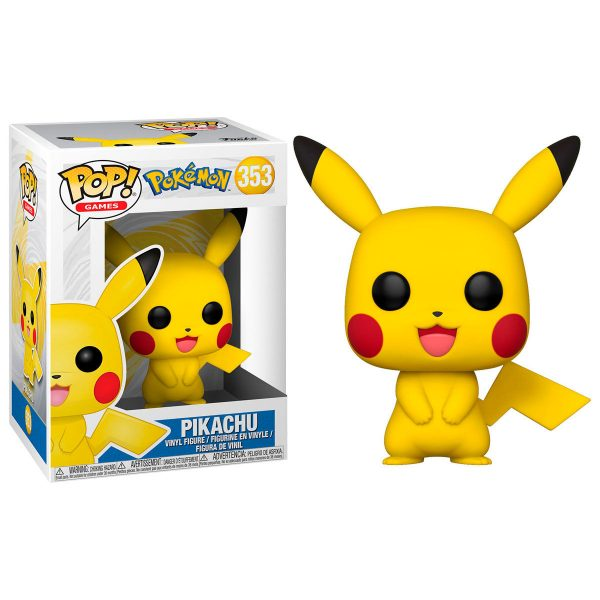 Figura POP Pokemon Pikachu