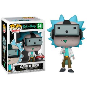 Funko Pop! Gamer Rick Exclusivo (Rick & Morty)