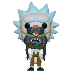 Funko Pop! Rick with Glorzo (Rick & Morty)