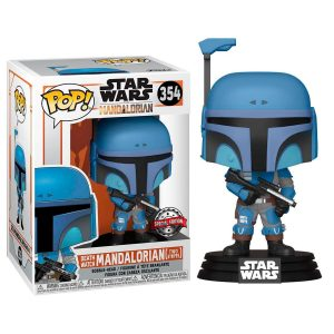 Funko Pop! Death Watch Mandalorian (Two Stripes) Exclusivo (The Mandalorian)
