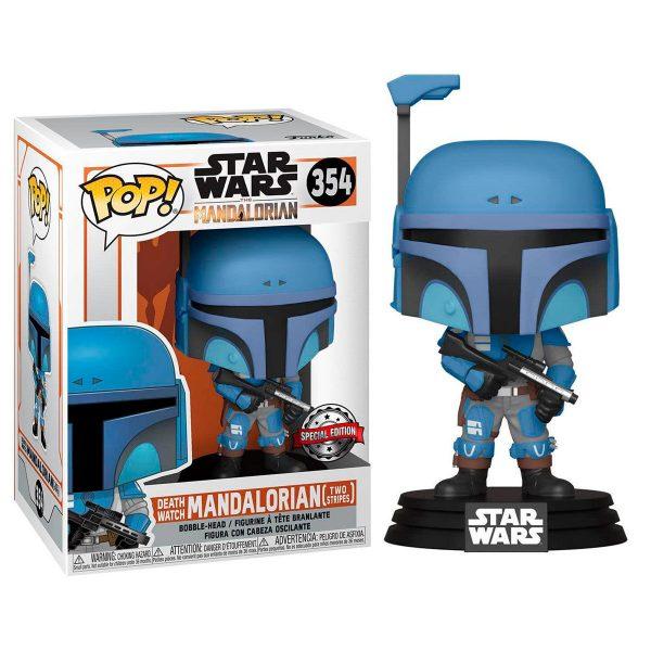 Figura POP Star Wars Mandalorian Death Watch Mandalorian Two Stripes Exclusive
