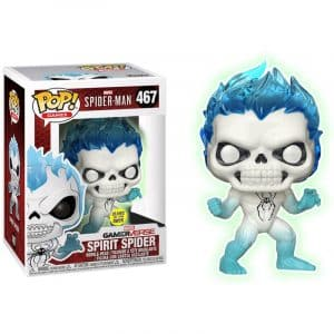 Funko Pop! Spirit Spider GITD (Spider-Man)