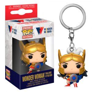 Llavero Pop! Wonder Woman Challenge Of The Gods