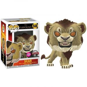 Funko Pop! Scar Exclusivo (Flocked) (El Rey León)