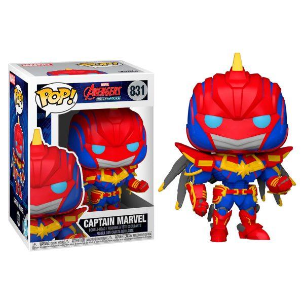 Figura POP Marvel Mech Capitana Marvel