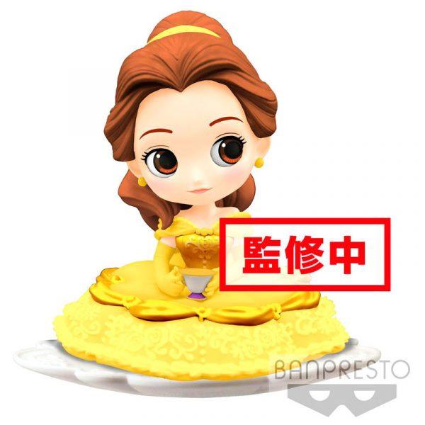 Figura Bella La Bella y la Bestia Disney Q Posket A 14cm