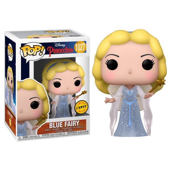 Figura POP Disney Pinocho Blue Fairy Chase