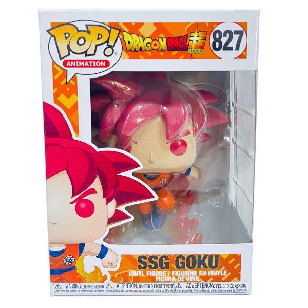 Figura POP Dragon Ball Super - Super Saiyan God Goku Exclusive