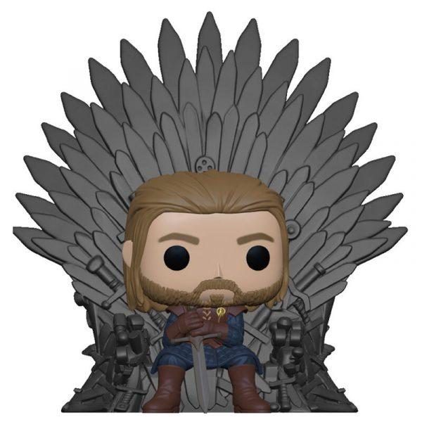 Figura POP Game of Thrones Ned Stark on Throne