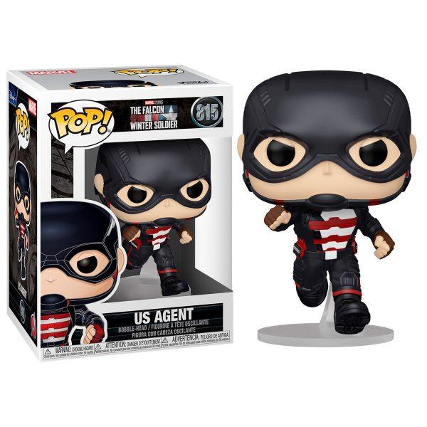 Figura POP Marvel The Falcon & Winter Soldier US Agent