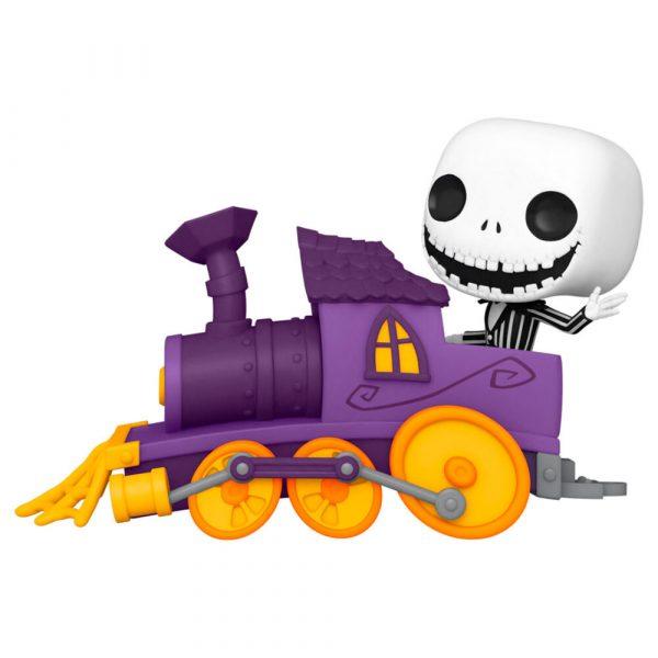 Figura POP Disney Pesadilla Antes de Navidad Jack in Train Engine