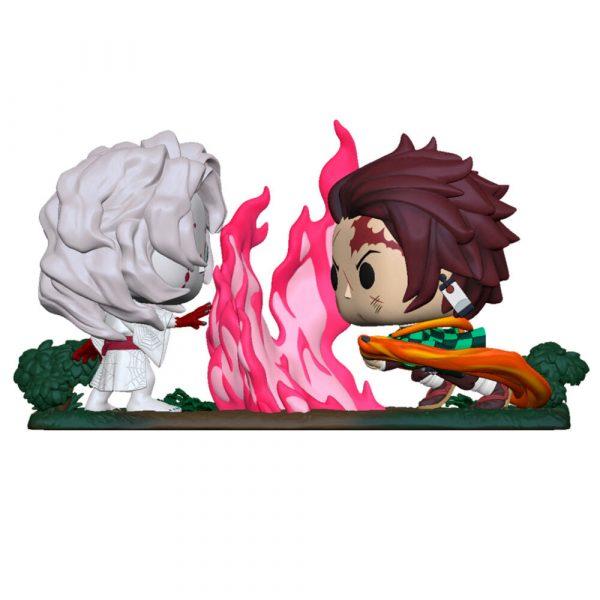 Figura POP Kimetsu No Yaiba Demon Slayer Tanjiro vs. Rui