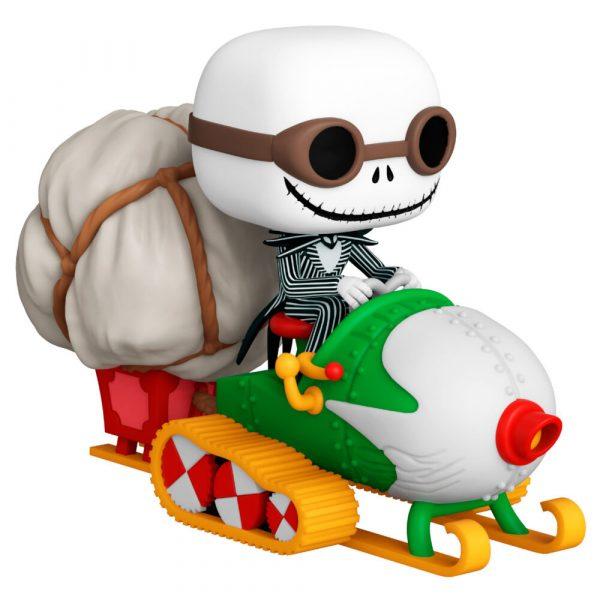 Figura POP Pesadilla Antes de Navidad Jack with Goggles & Snowmobile