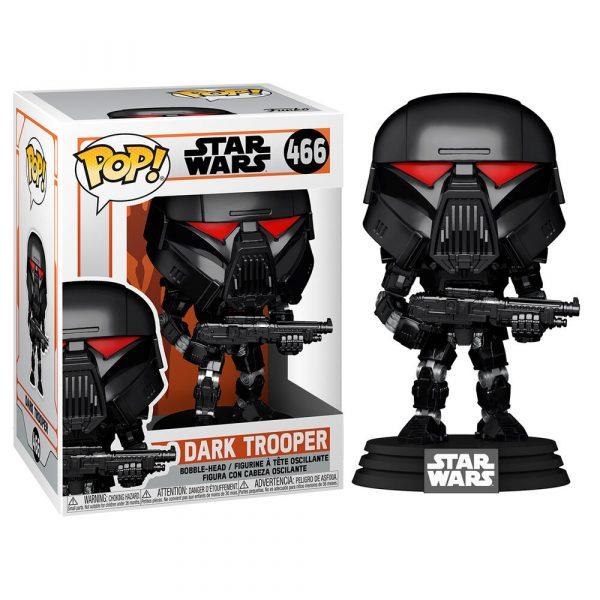 Figura POP Star Wars Mandalorian Dark Trooper Battle