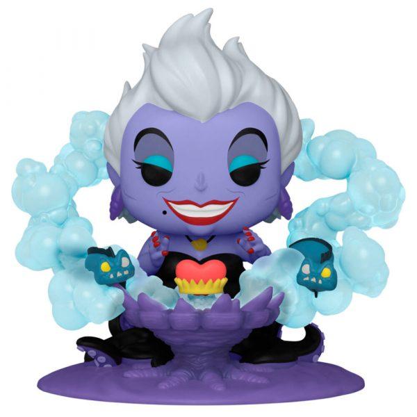 Figura POP Villains Ursula on Throne