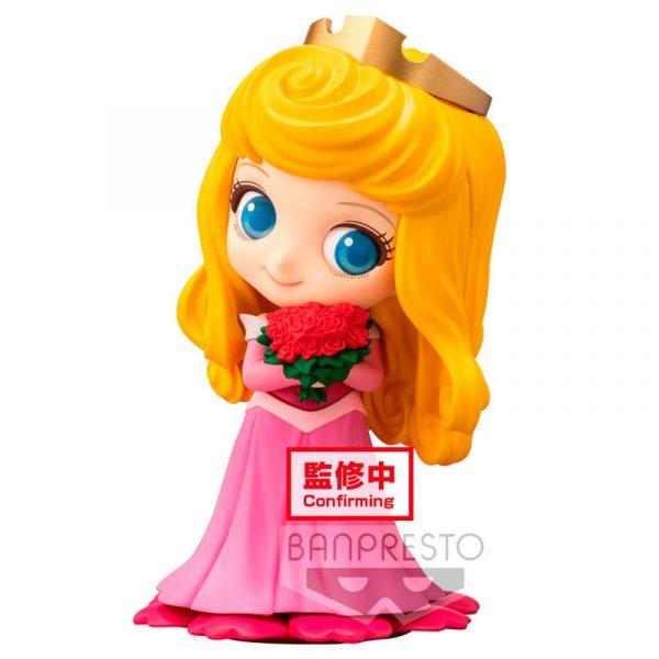 Figura Aurora La Bella Durmiente Disney Q Posket A 10cm