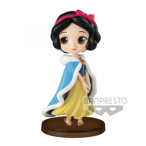 Figura Blancanieves Winter Disney Q Posket 7cm