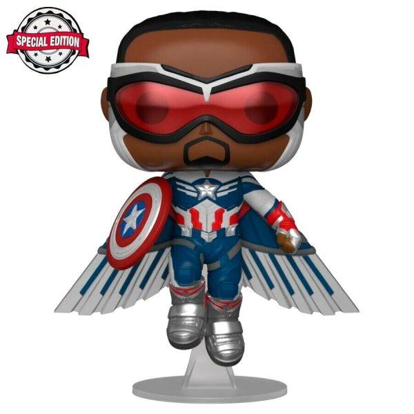 Figura POP Marvel The Falcon and the Winter Soldier Captain America Exclusive