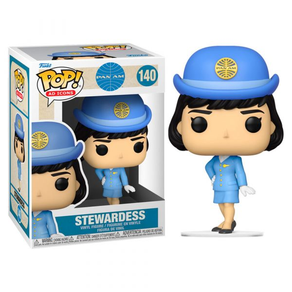 Figura POP Pan Am Stewardess without Bag