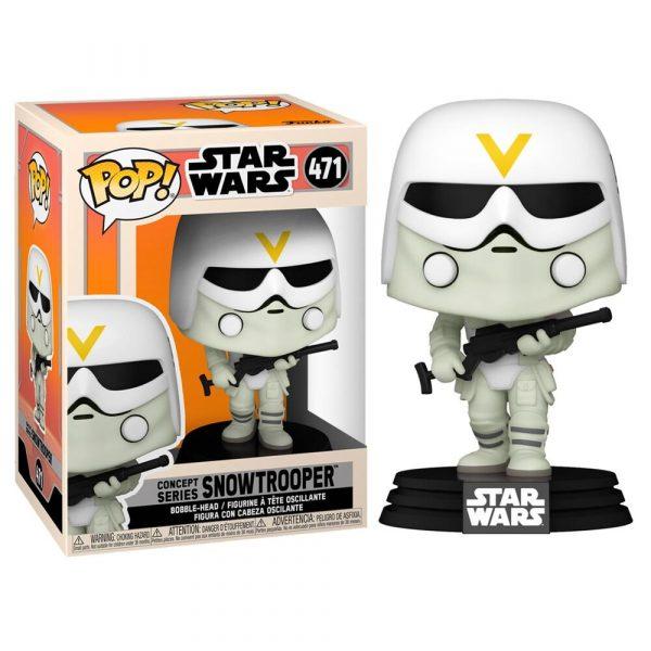 Figura POP Star Wars Concept Series Snowtrooper