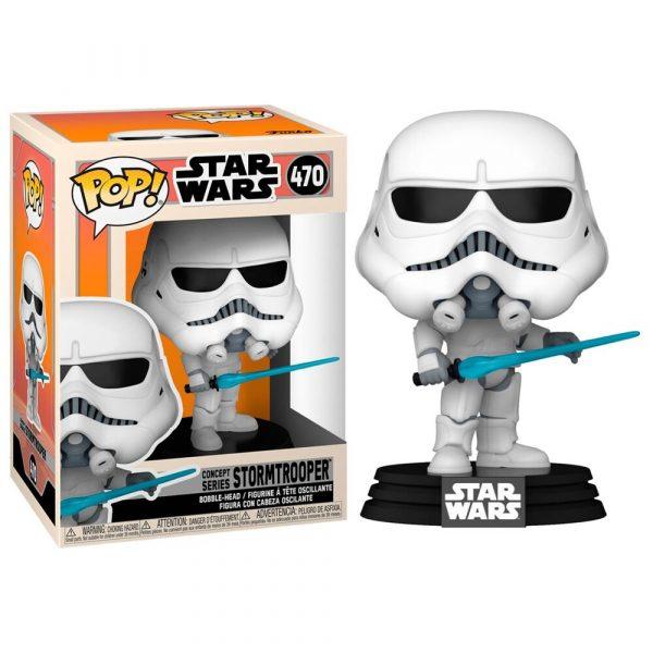 Figura POP Star Wars Concept Series Stormtrooper