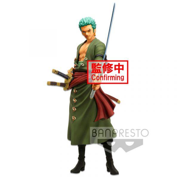 Figura Roronoa Zoro Grandista Nero One Piece 28cm