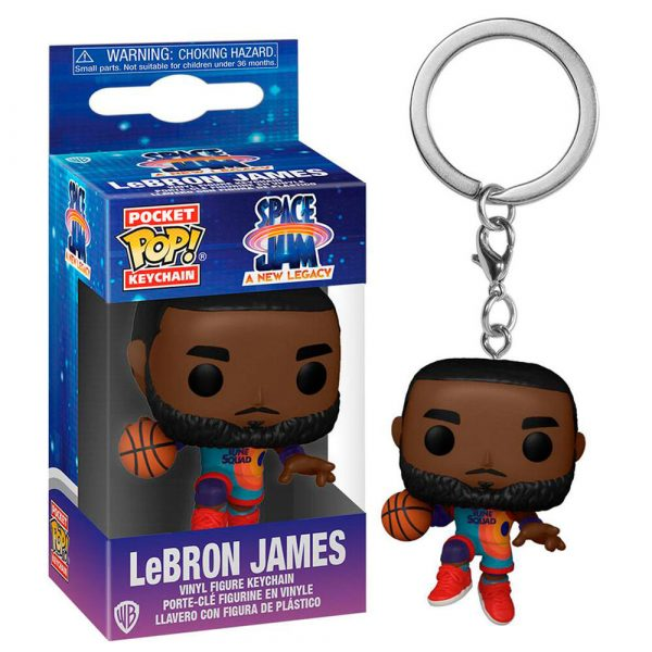 Llavero Pocket POP Space Jam 2 LeBron James