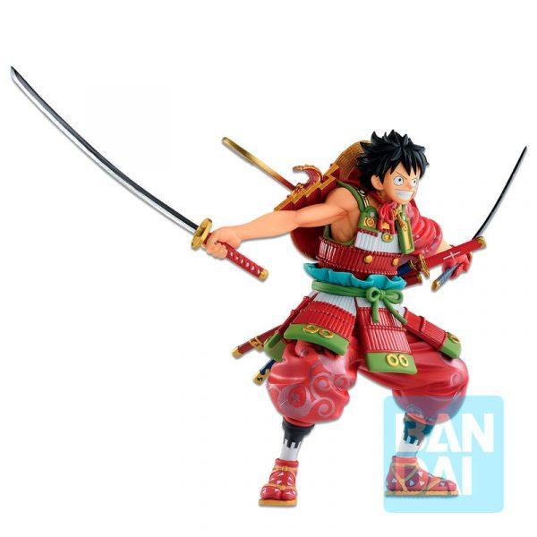 Figura Ichibansho Armor Warrior Luffytaro One Piece 15cm