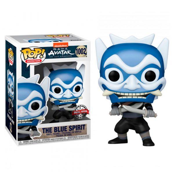 Figura POP Avatar The Last Airbender The Blue Spirit Exclusive