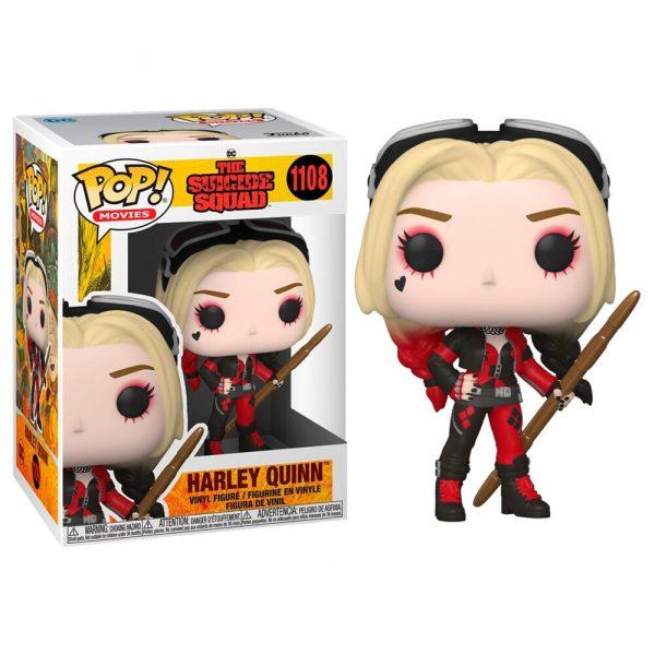 Figura POP DC The Suicide Squad Harley Quinn Bodysuit