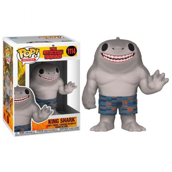 Figura POP DC The Suicide Squad King Shark
