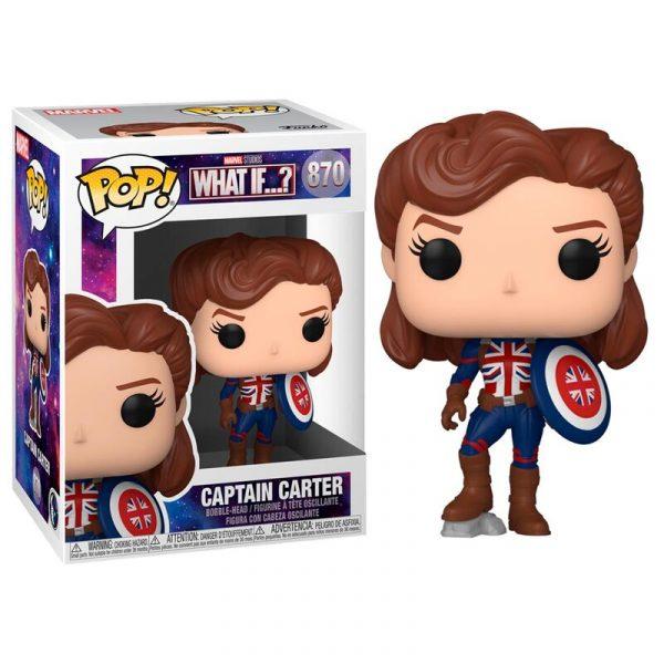 Figura POP Marvel What If Captain Carter
