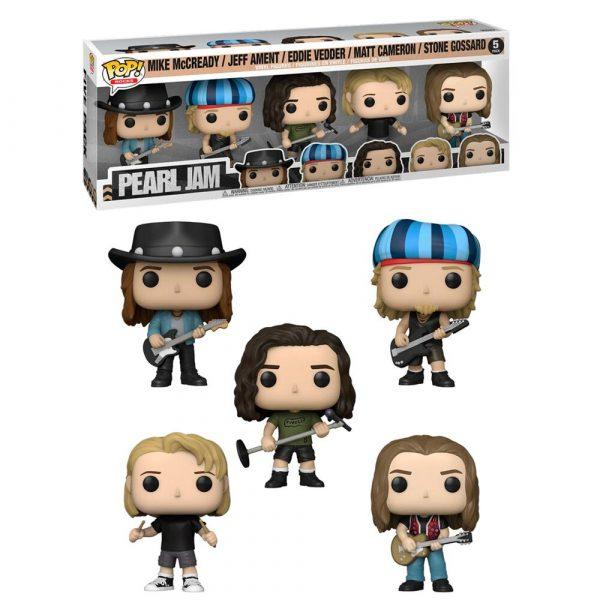 Pack 5 figuras POP Pearl Jam
