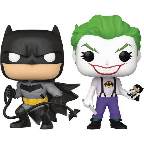 Set 2 figuras POP DC Comics Batman y Joker Exclusive