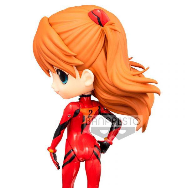 Figura Asuka Shikinami Langley Evangelion Movie Q Posket B 14cm