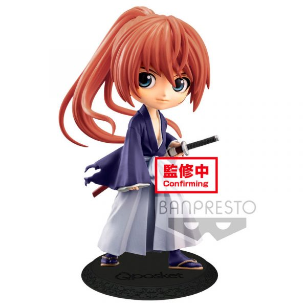 Figura Battousai Himura Rurouni Kenshin Meiji Swordsman Romantic Story Q Posket B 14cm