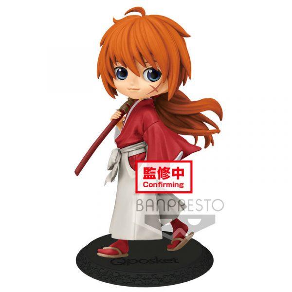 Figura Kenshin Himura Rurouni Kenshin Meiji Swordsman Romantic Story Q Posket A 14cm