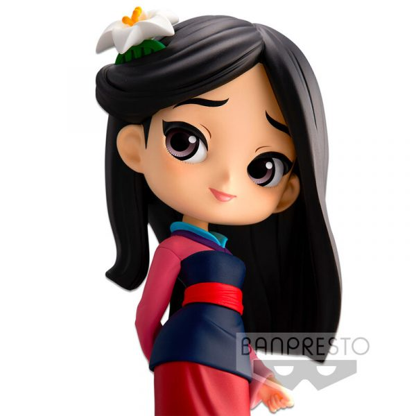 Figura Mulan Disney Characters Q Posket 14cm
