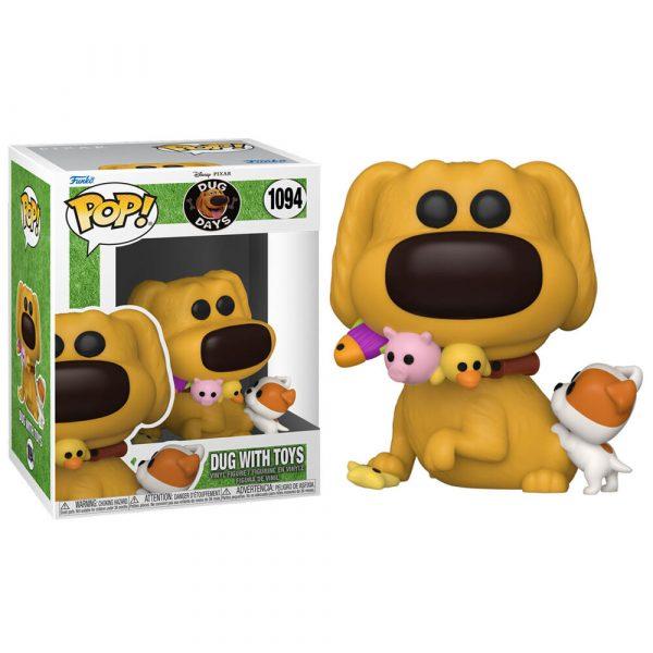 Figura POP Disney Dug Days Dug with Toys