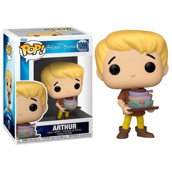 Figura POP Disney Merlin El Encantador Arthur