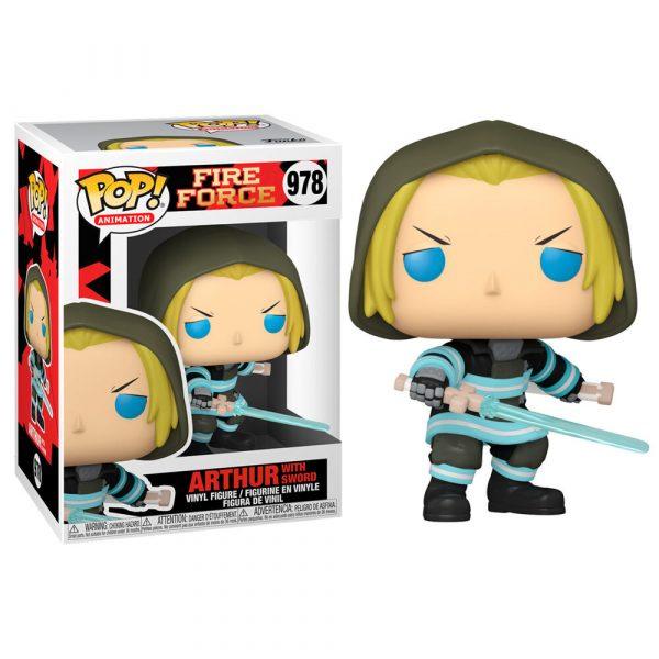 Figura POP Fire Force Arthur with Sword