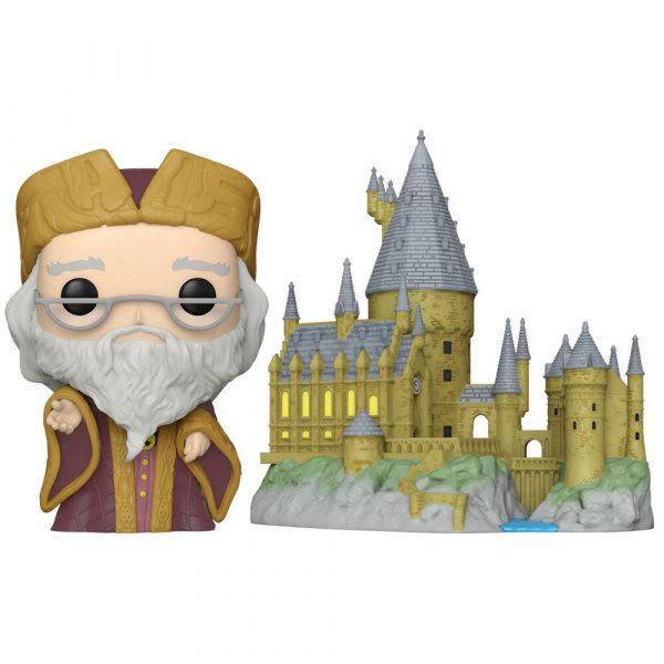 Figura POP Harry Potter Anniversary Dumbledore with Hogwarts
