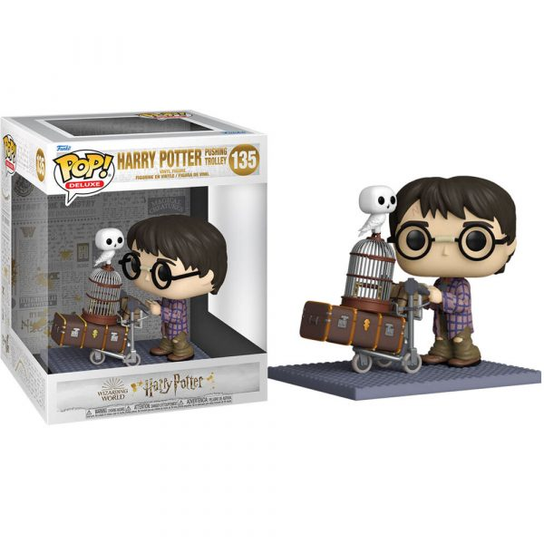 Figura POP Harry Potter Anniversary Harry Pushing Trolley