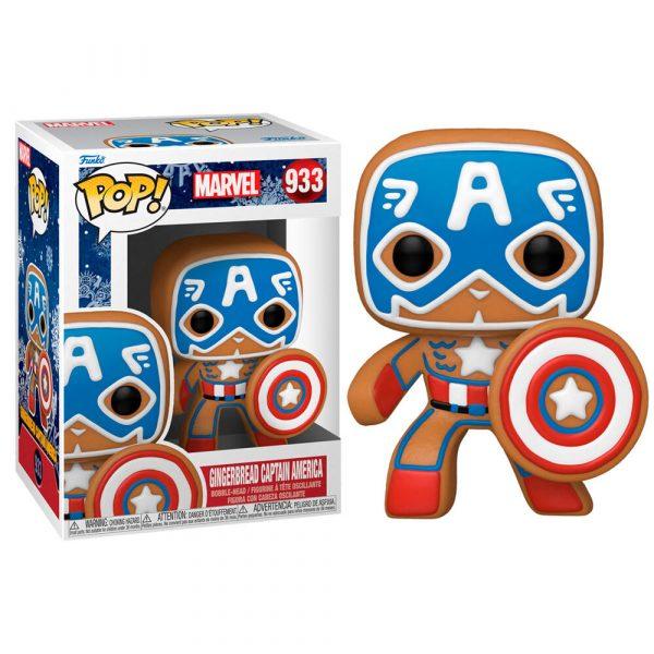 Figura POP Marvel Holiday Captain America