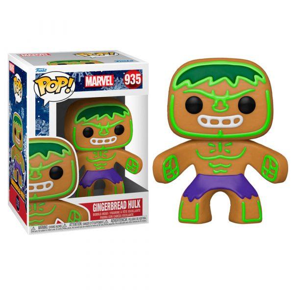 Figura POP Marvel Holiday Hulk