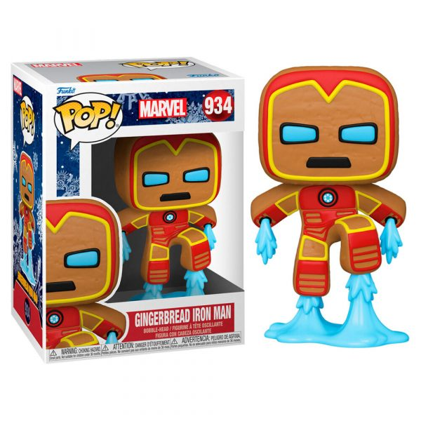 Figura POP Marvel Holiday Iron Man