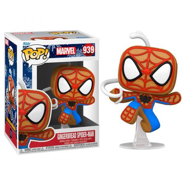 Figura POP Marvel Holiday Spider-Man